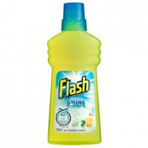 Flash - All Purpose Cleaner Liquid Lemon (6 X 1 lt pack)