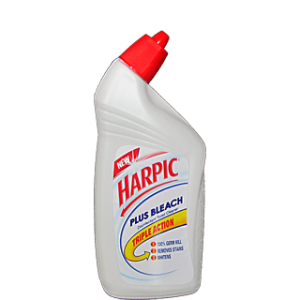 Harpic - Plus Bleach Triple Action 500 ml Pack