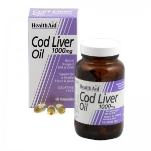 Health Aid Cod Liver Oil - 1000mg