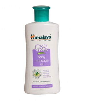 Himalaya Nourishing Baby Oil - Olive Oil & Winter Cherry
