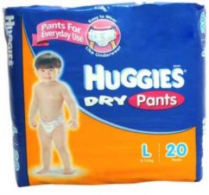 Huggies Dry Pants - Large (9-14 kg)