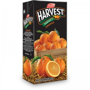 KDD Harvest - Perfect Orange 1 lt Packing