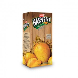 KDD Harvest - Rich Mango Juice 1 lt Packing