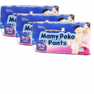 Mamy Poko Pant Style Diapers - Medium (7-12 kg)