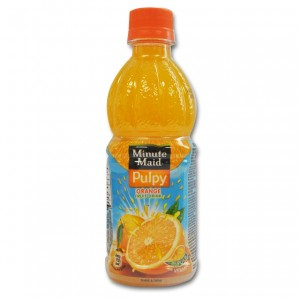 Minute Maid Fruit Drink - Pulpy Orange 400 ml Packing