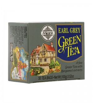 Mlesna - Earl Grey Green Tea