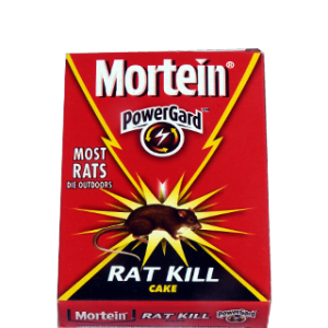 Mortein - PowerGard Rat Kill Cake 100 gm Pack