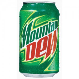 Mountain Dew - Soft Drink 250 ml Can
