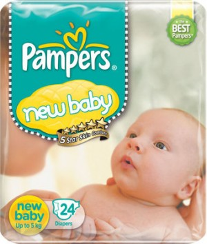 Pampers - New Baby Diapers