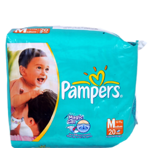 Pampers - Medium (6-11 kg)