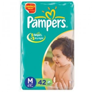 Pampers Baby Pants - Medium (7-12 kgs)
