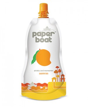 Paper Boat Drink - Aamras 250 ml Packing