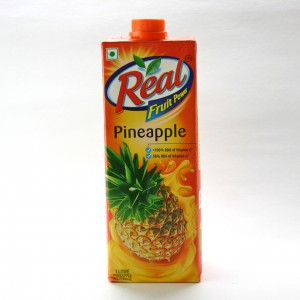 Real - Pineapple Juice 1 lt Packing