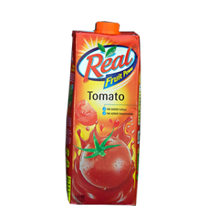 Real - Tomato Juice 1 lt Packing