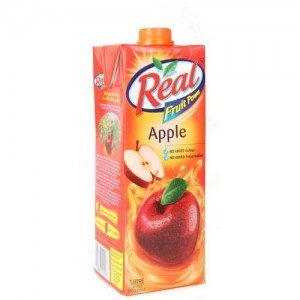 Real - Apple Juice 1 lt Packing