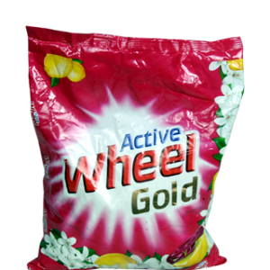 Active Wheel Detergent Powder - Gold (Fragrance of Lemon & Flowers) 1.5 kg Pack
