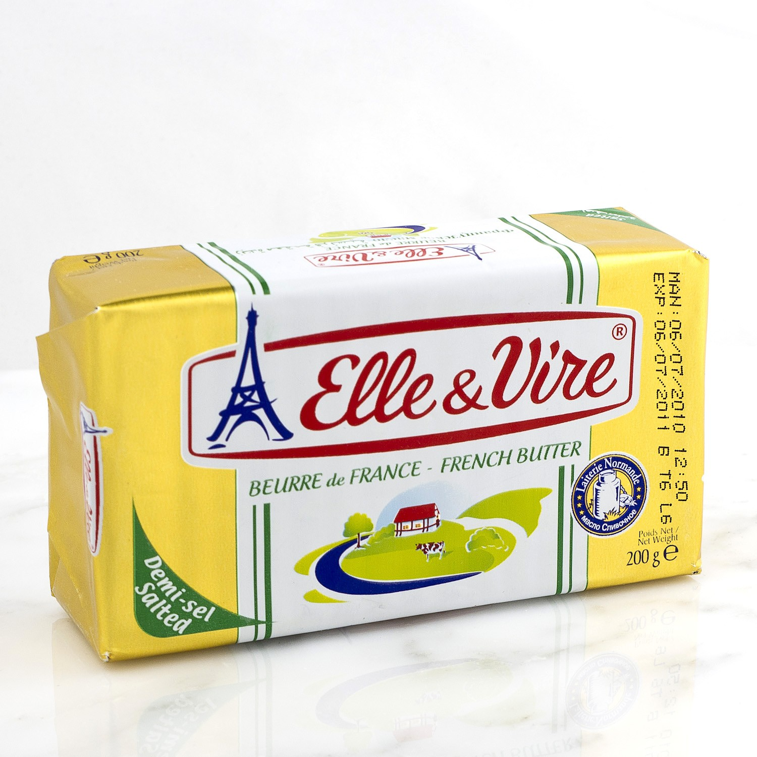 Opaam.com Elle & Vire Beurre de France - French Butter (Salted) 200 gm
